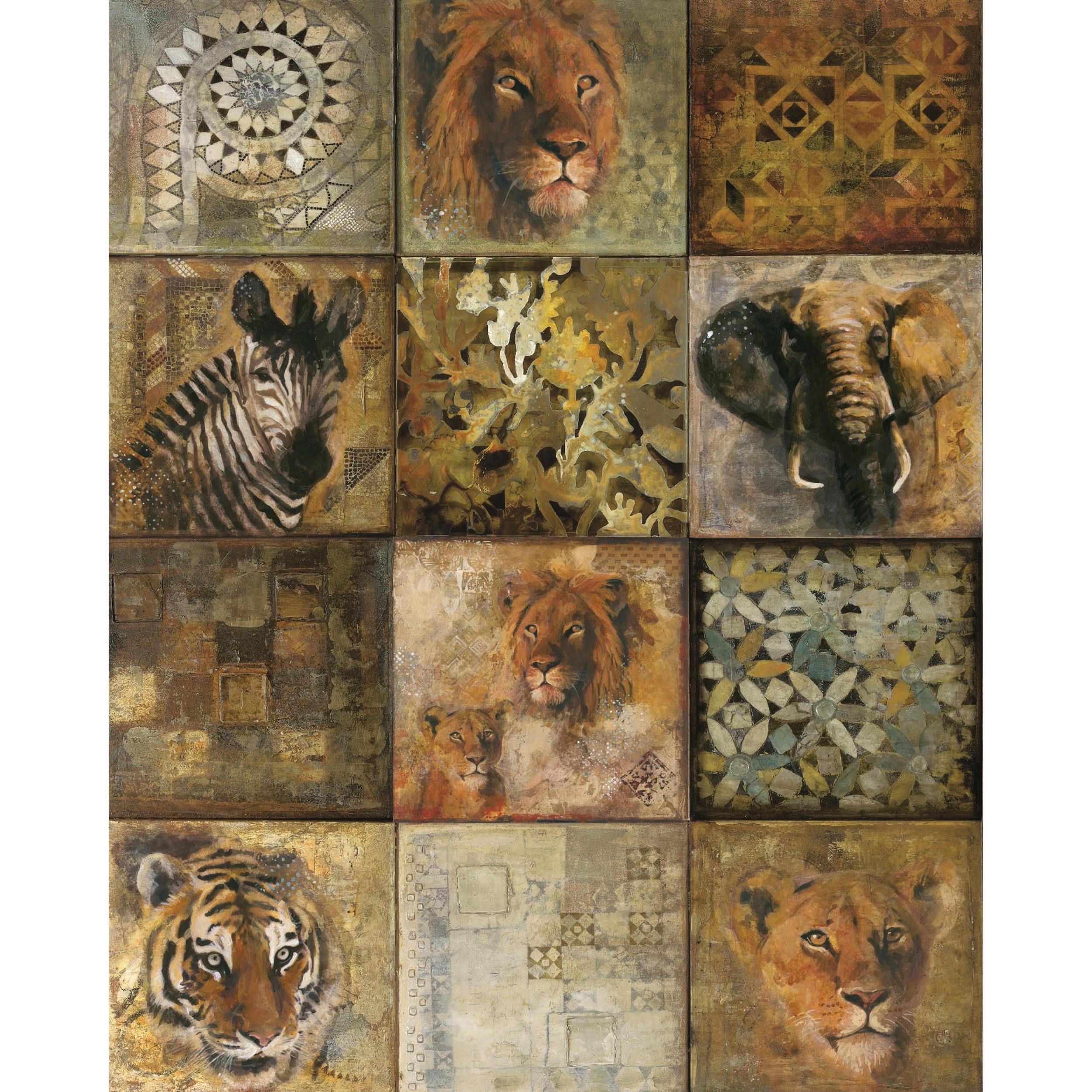 acheter poster vertical safari 40 x 50