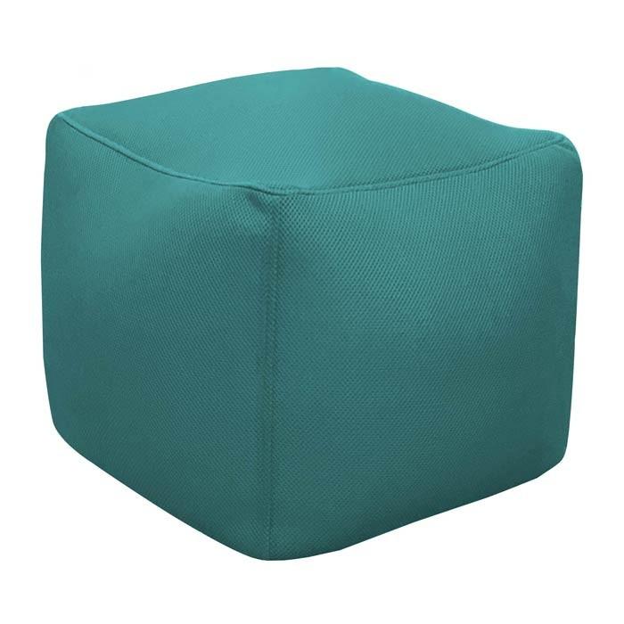 acheter pouf carre bleu detente