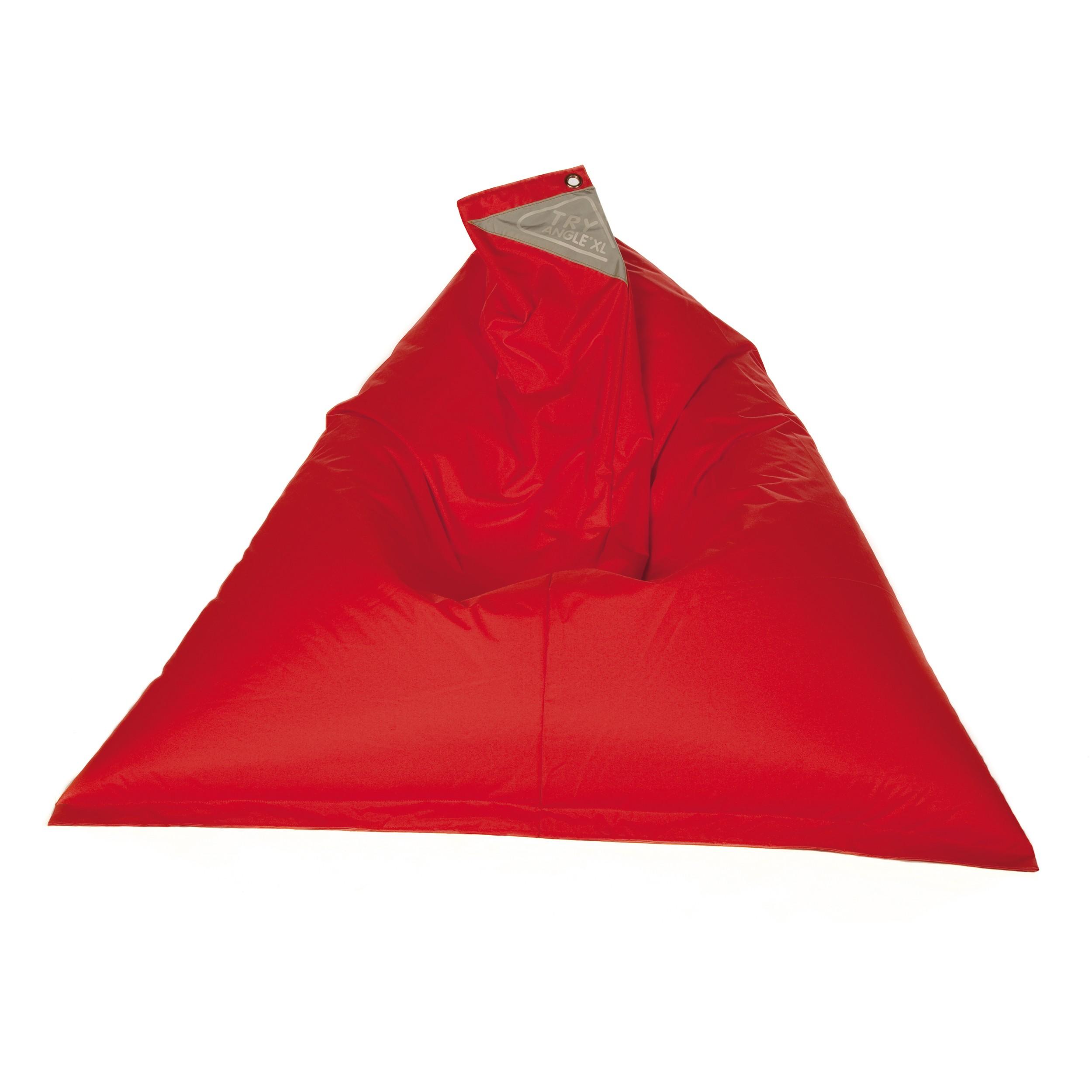 acheter pouf rouge confortable