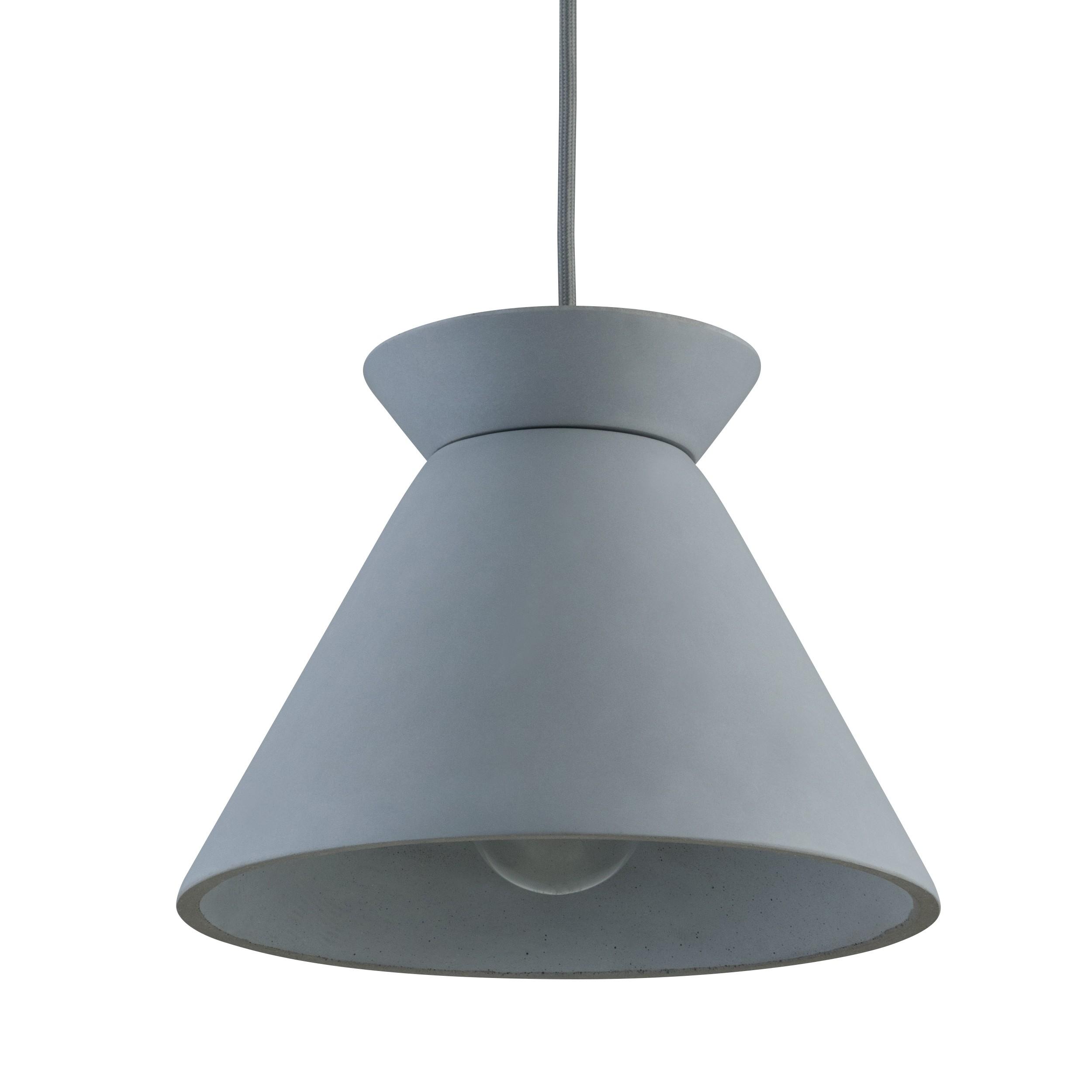 acheter suspension en beton gris