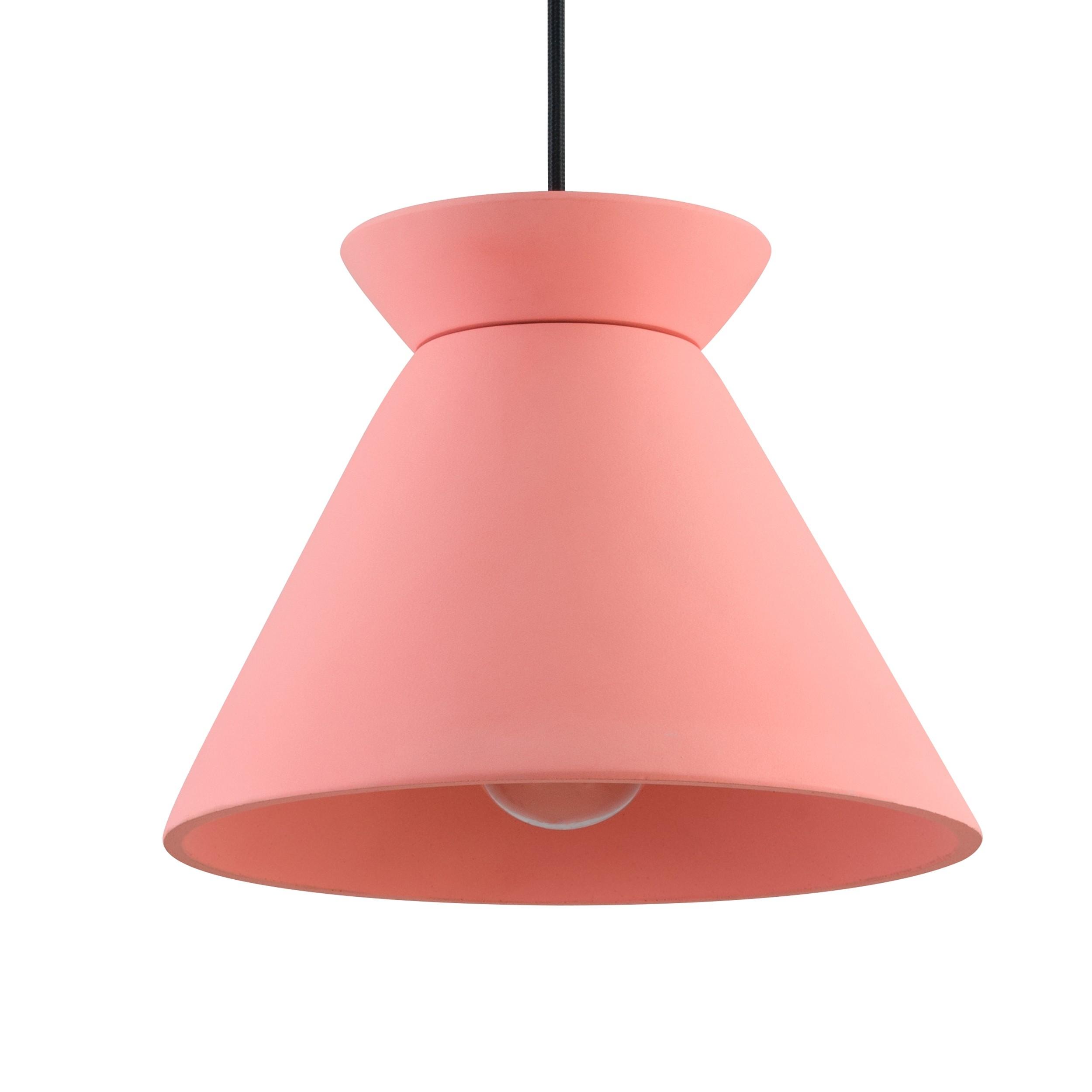 acheter suspension en beton rose