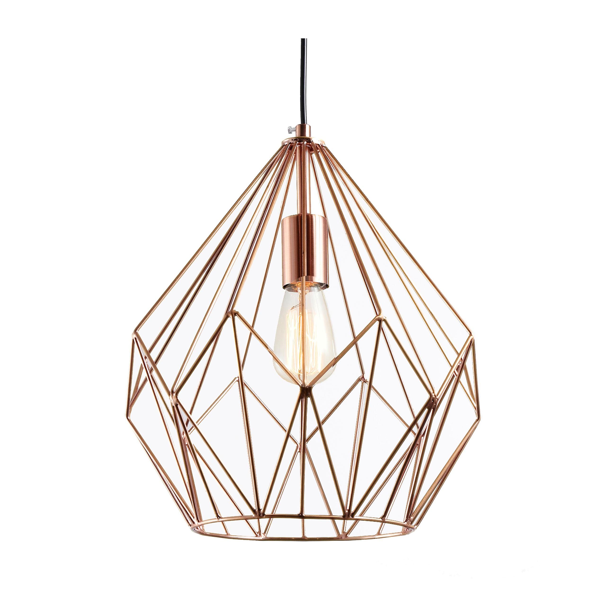 suspension wire cuivre d couvrez nos suspensions wire. Black Bedroom Furniture Sets. Home Design Ideas