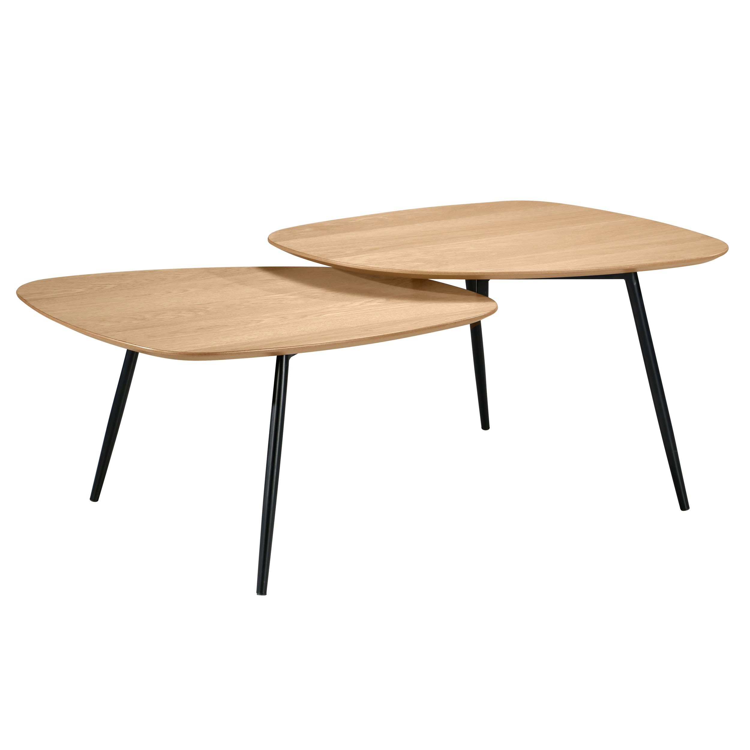 Table Basse Bois Scandinave.Table Basse Loken