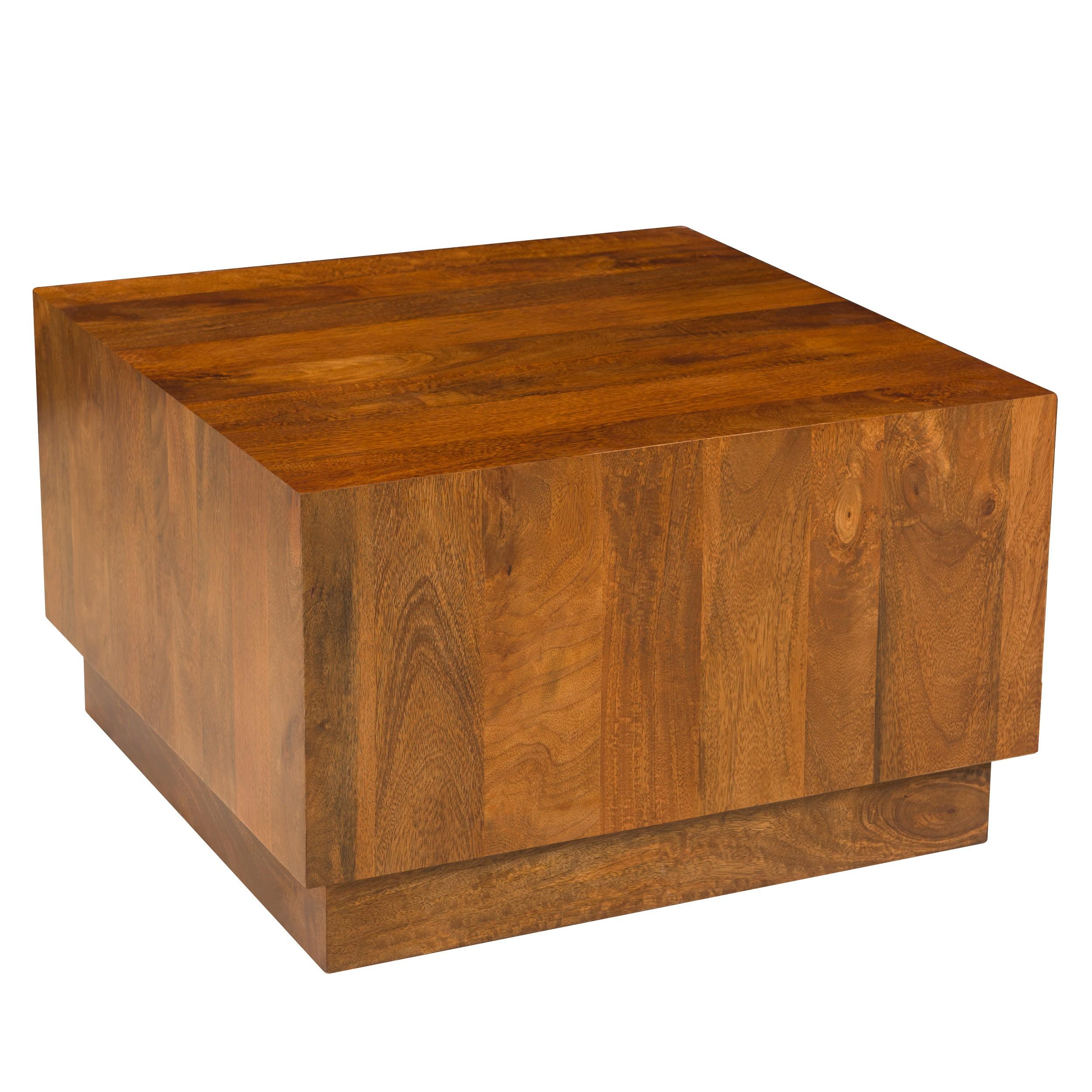 acheter table basse carree en bois