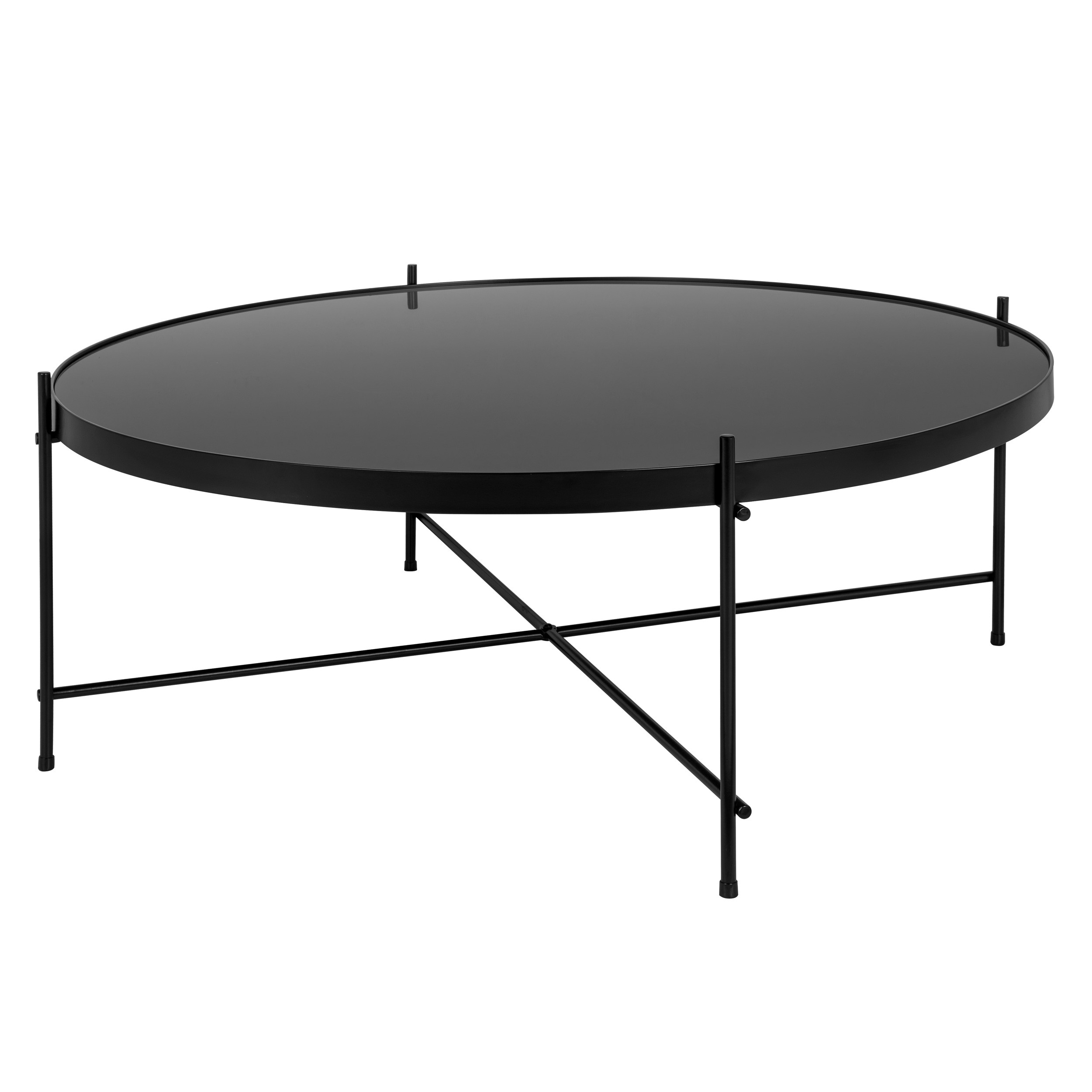 table basse ronde valdo noire l choisissez nos tables basses ronde valdo noires l rdv d co. Black Bedroom Furniture Sets. Home Design Ideas