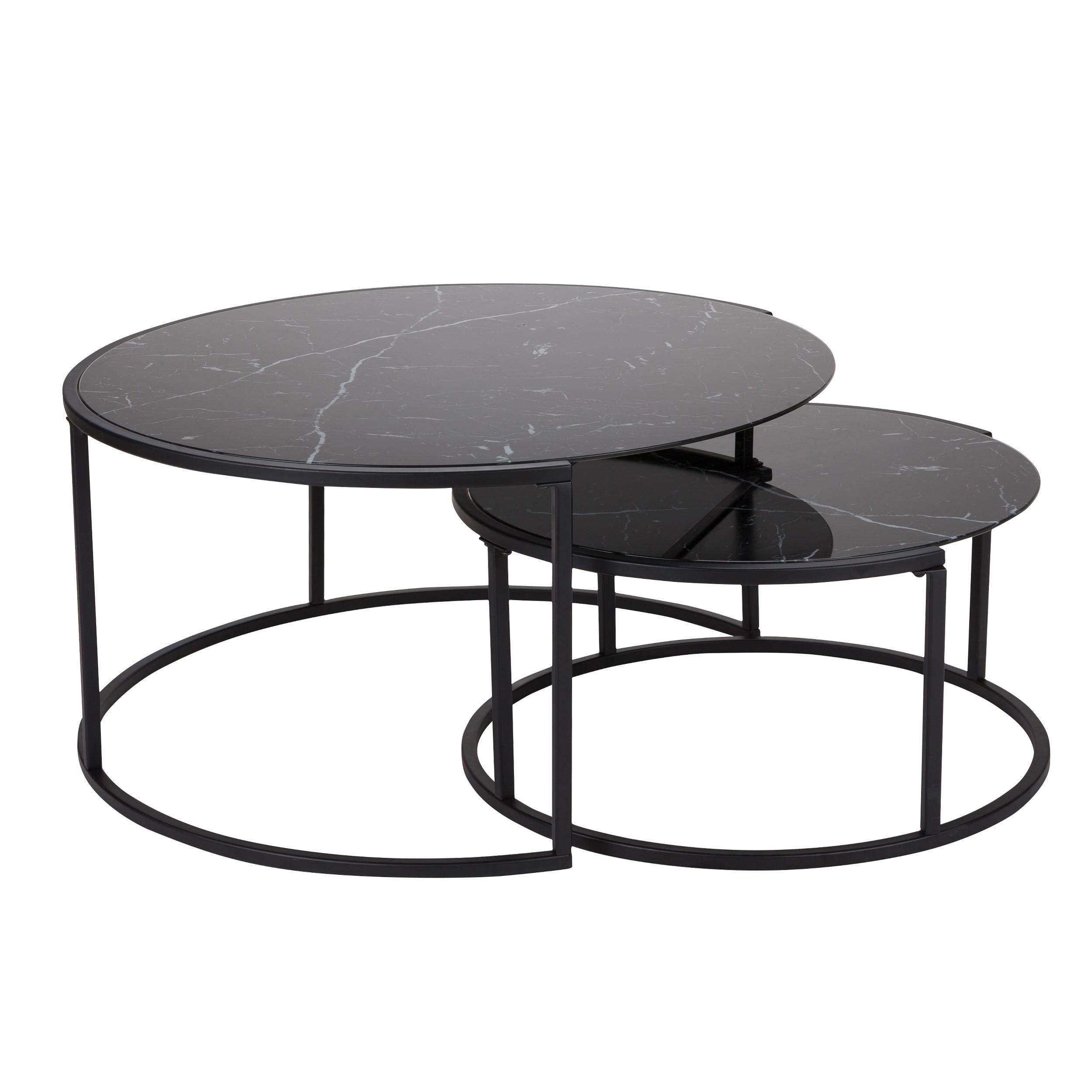 tables basses naos lot de 2