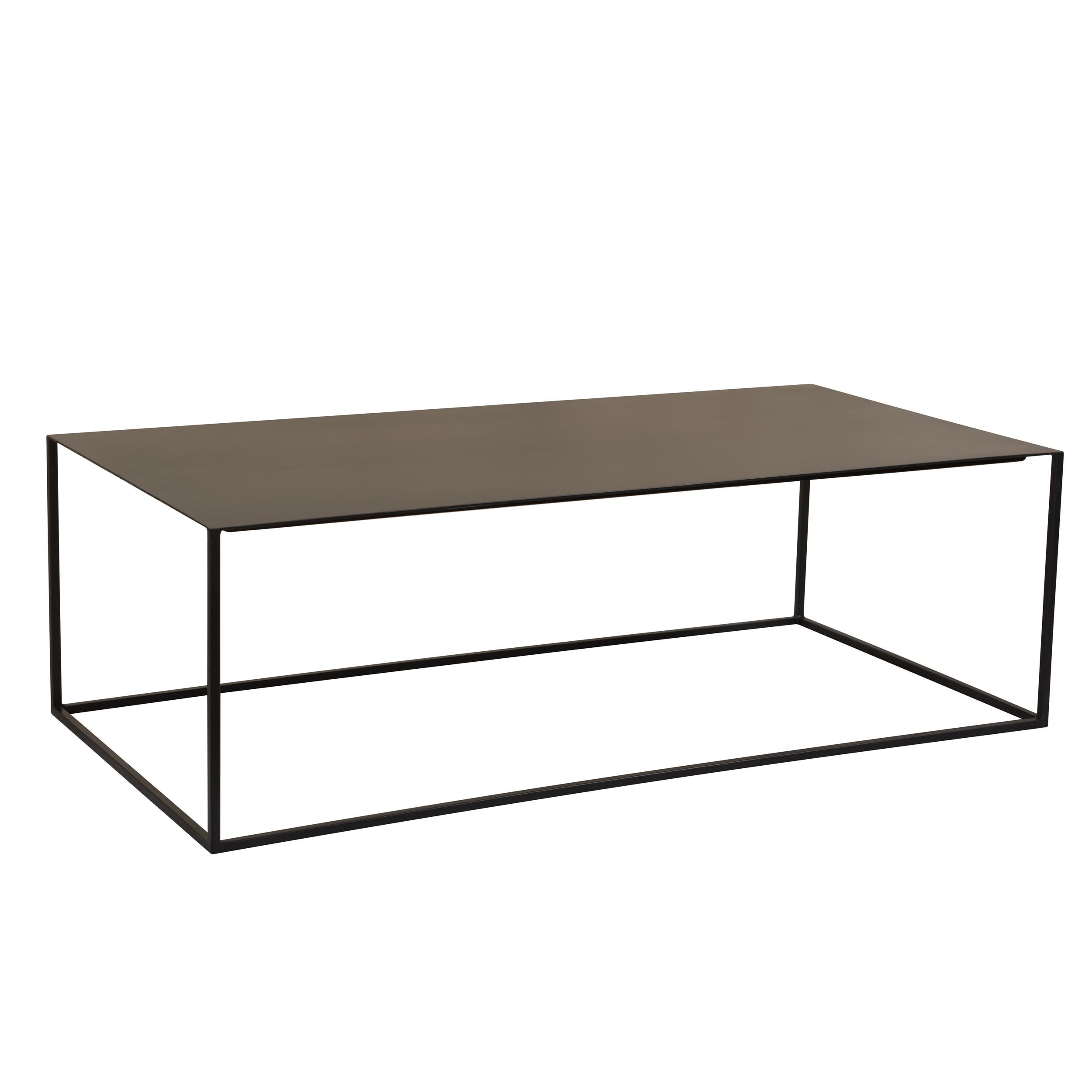 acheter table basse rectangulaire noire