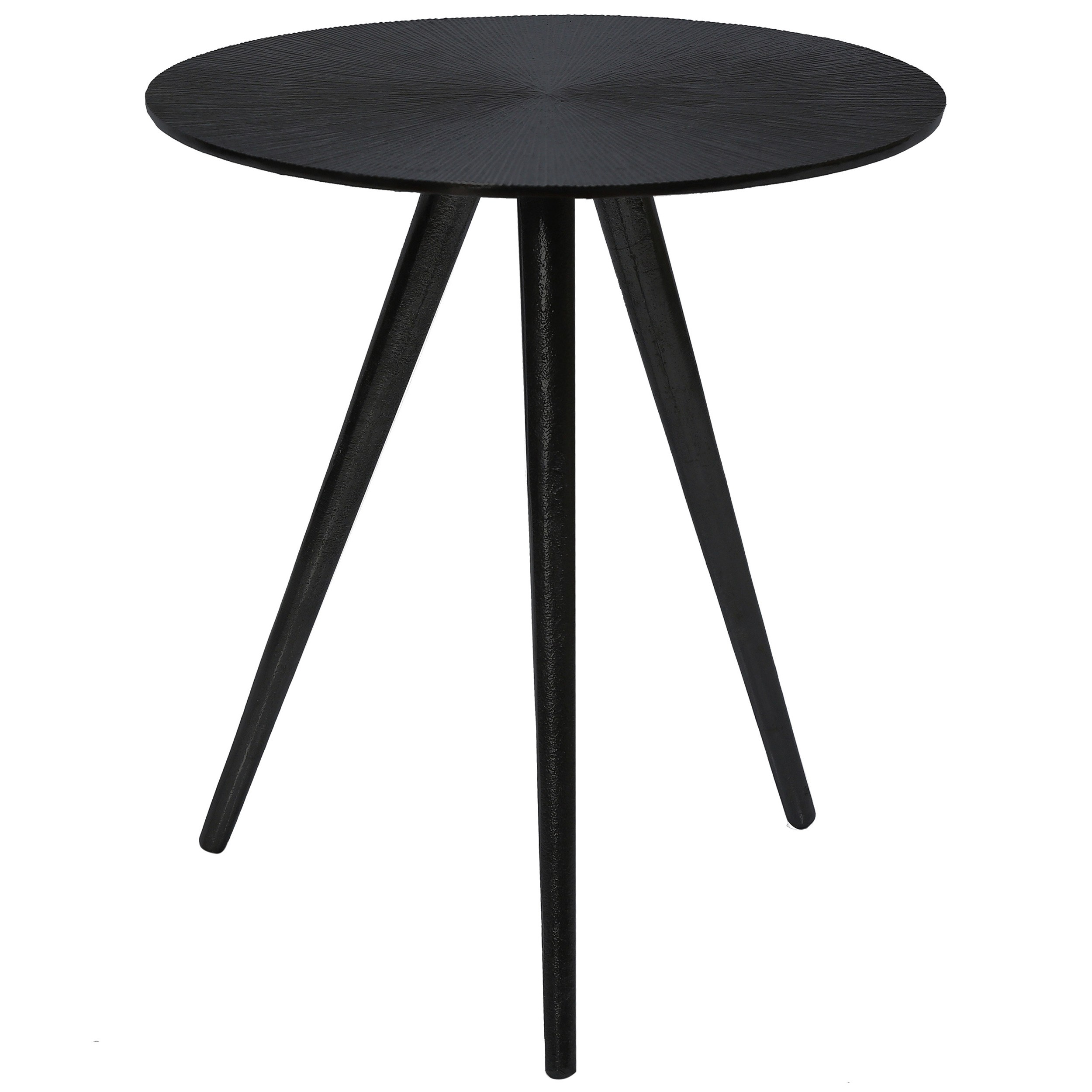 table basse ronde rivak noire commandez nos tables basses rondes rivak noires design rdv d co. Black Bedroom Furniture Sets. Home Design Ideas