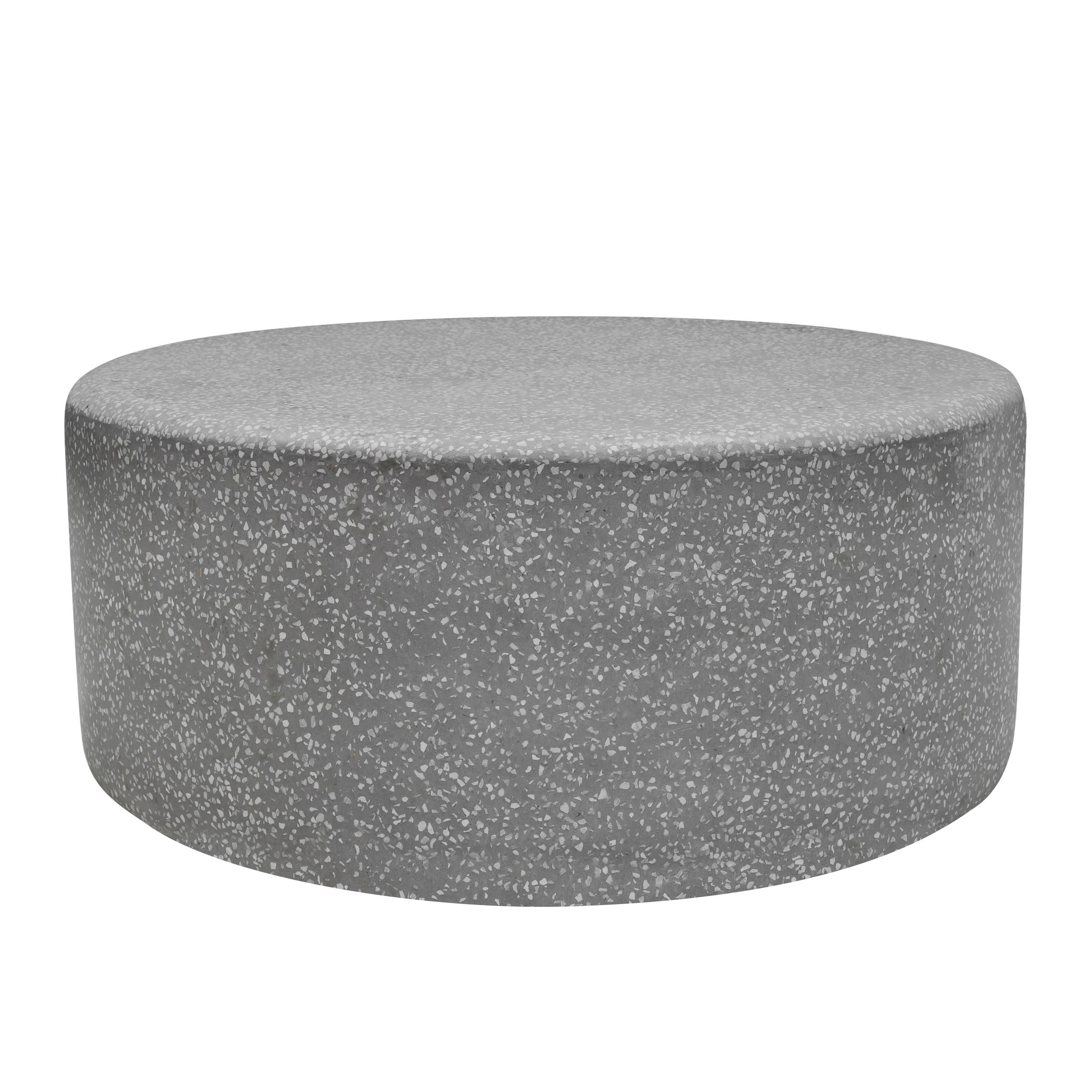 acheter table basse ronde terrazzo 90 cm