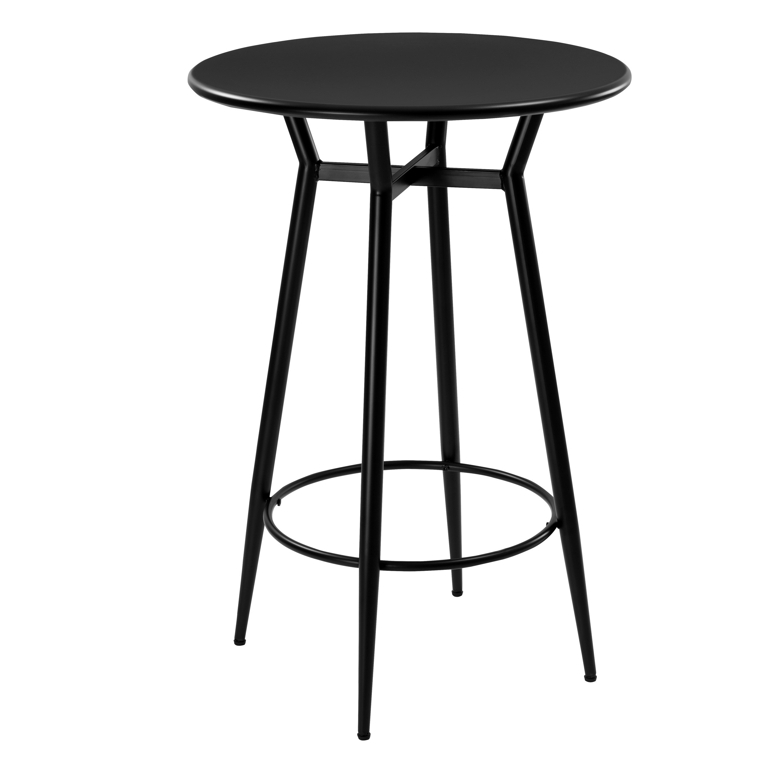 acheter table de bar noire