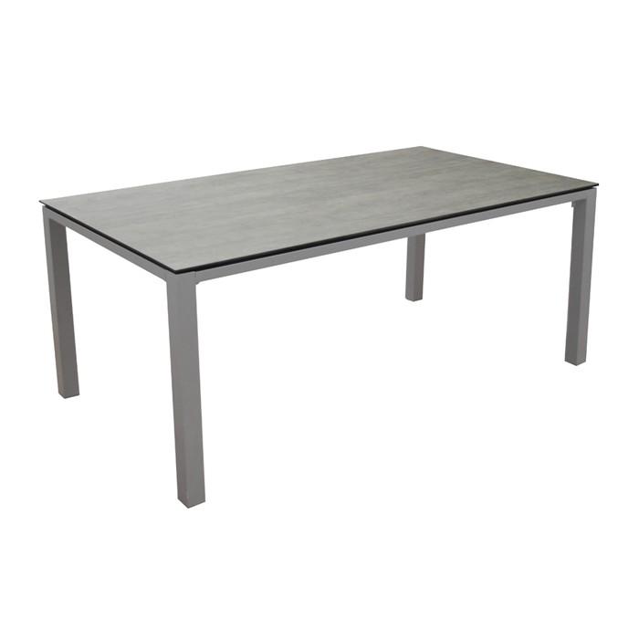 acheter table gris taupe de jardin