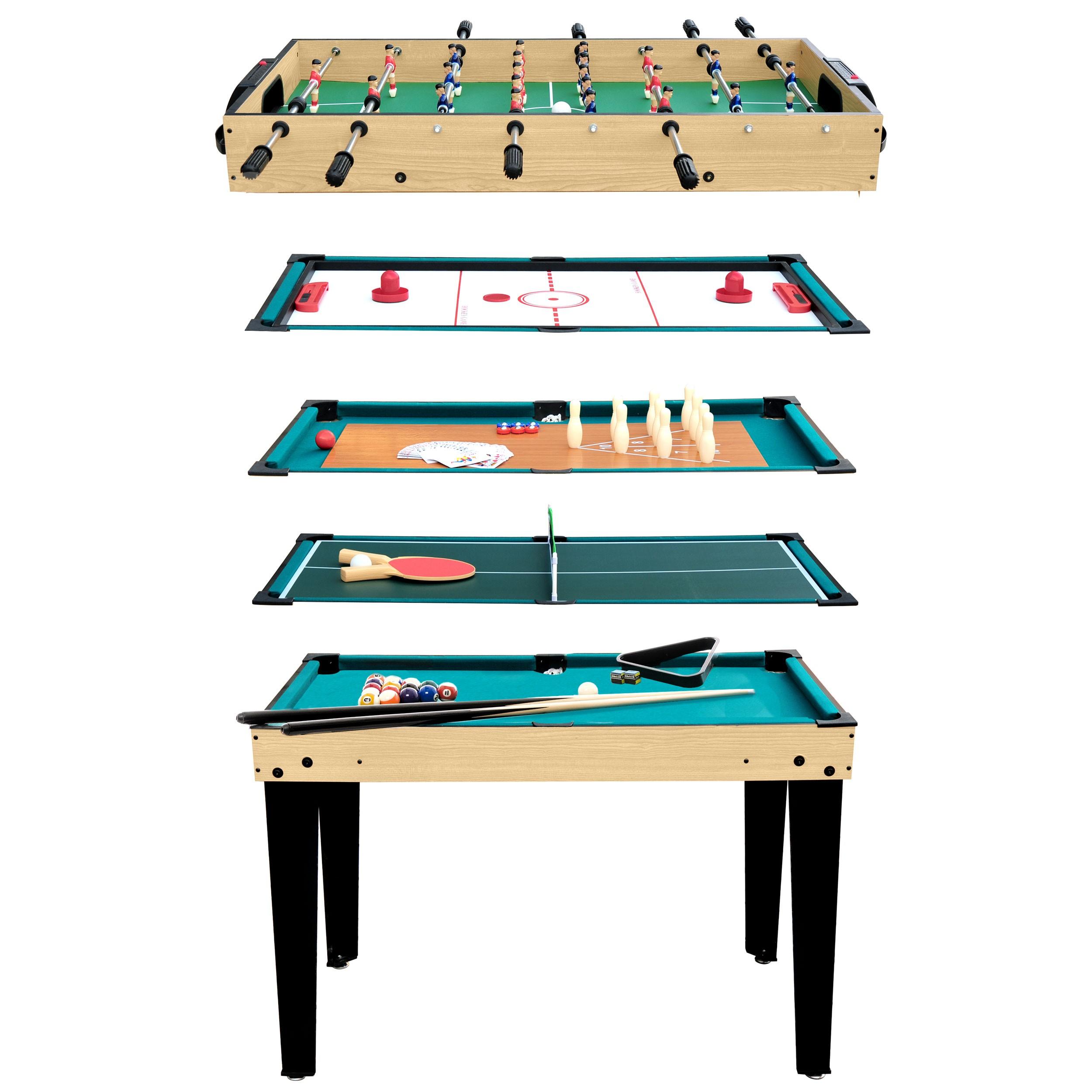 acheter table multi jeux loisirs 10 en 1