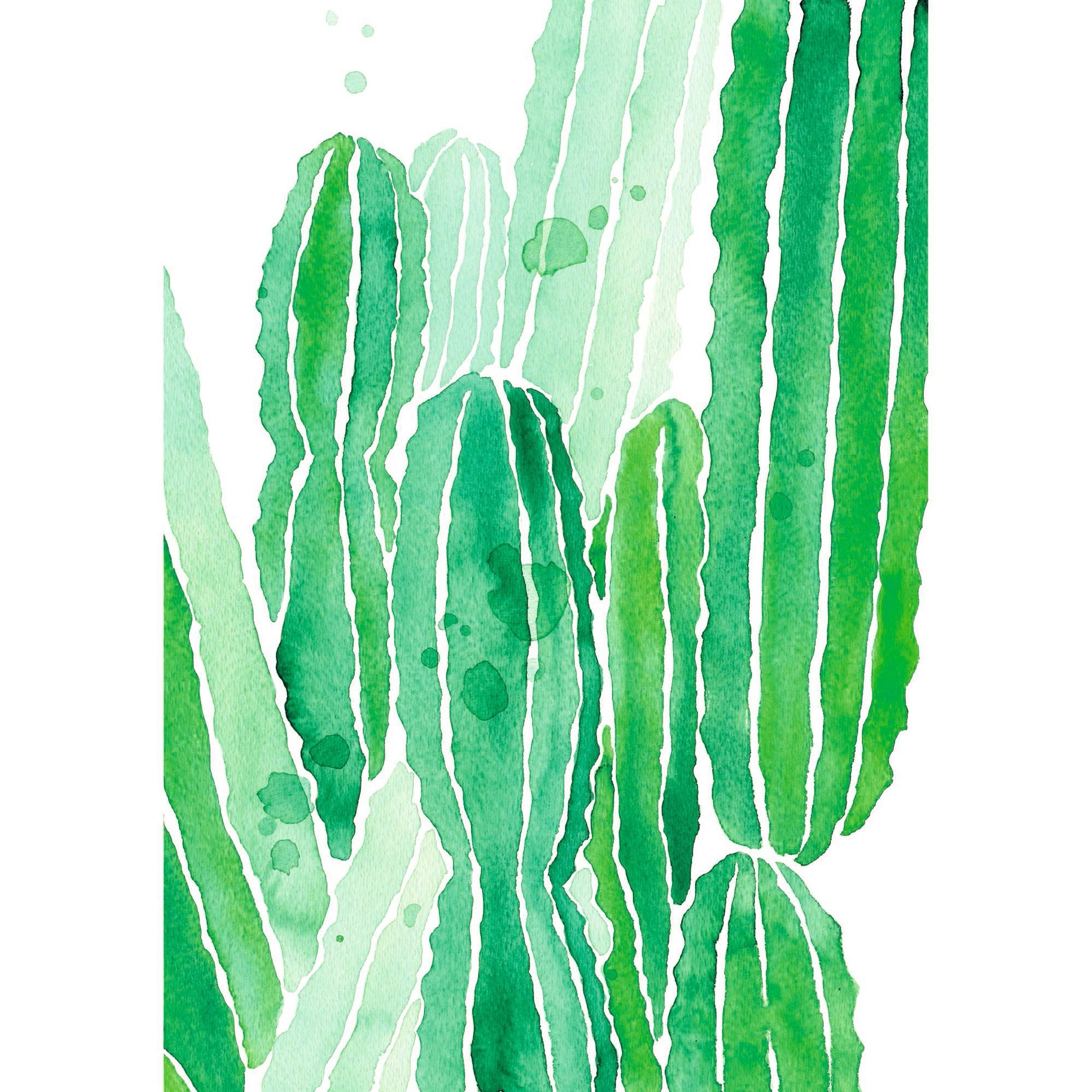acheter tableau cactus 50 x 70 acrylique