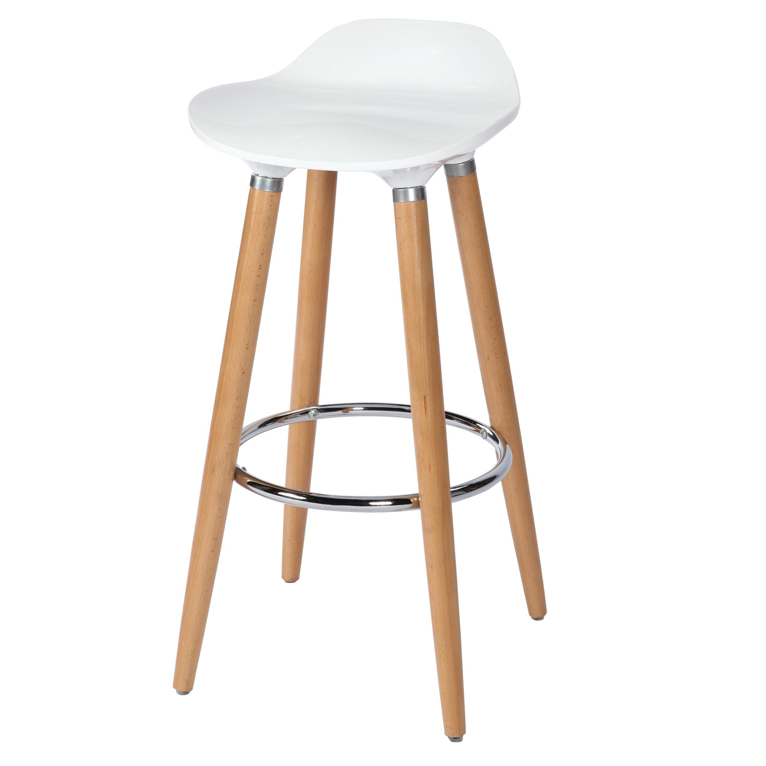 tabouret de bar italien blanc achetez nos tabourets de bar italiens blancs rdv d co. Black Bedroom Furniture Sets. Home Design Ideas