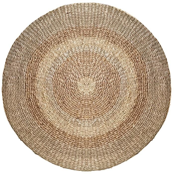 acheter tapis rond tresse 150 cm