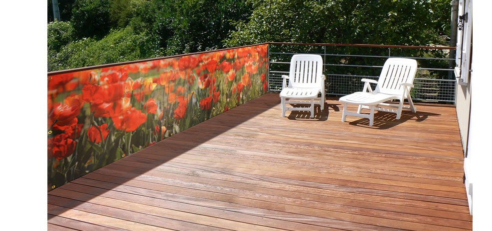 brise vue de jardin coquelicots choisissez nos brise vue de jardin coquelicots design rdv d co. Black Bedroom Furniture Sets. Home Design Ideas