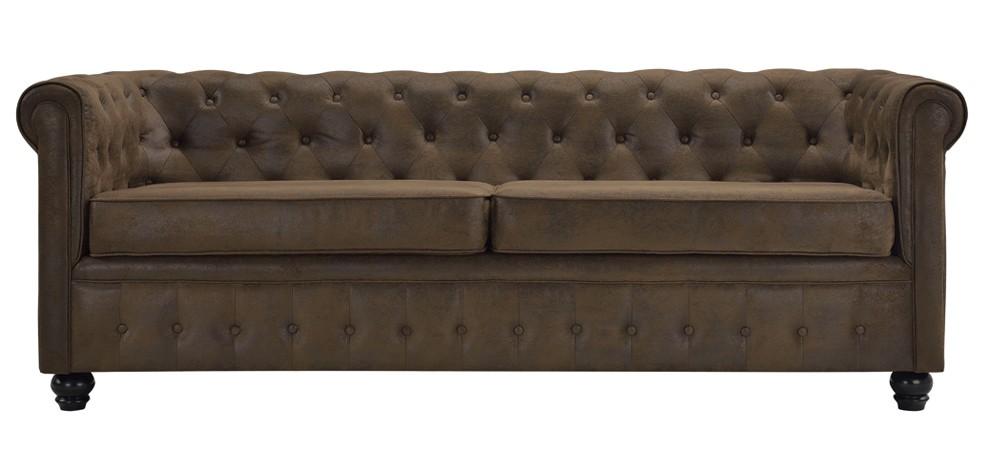 canap chesterfield 3 places commandez nos canap s. Black Bedroom Furniture Sets. Home Design Ideas