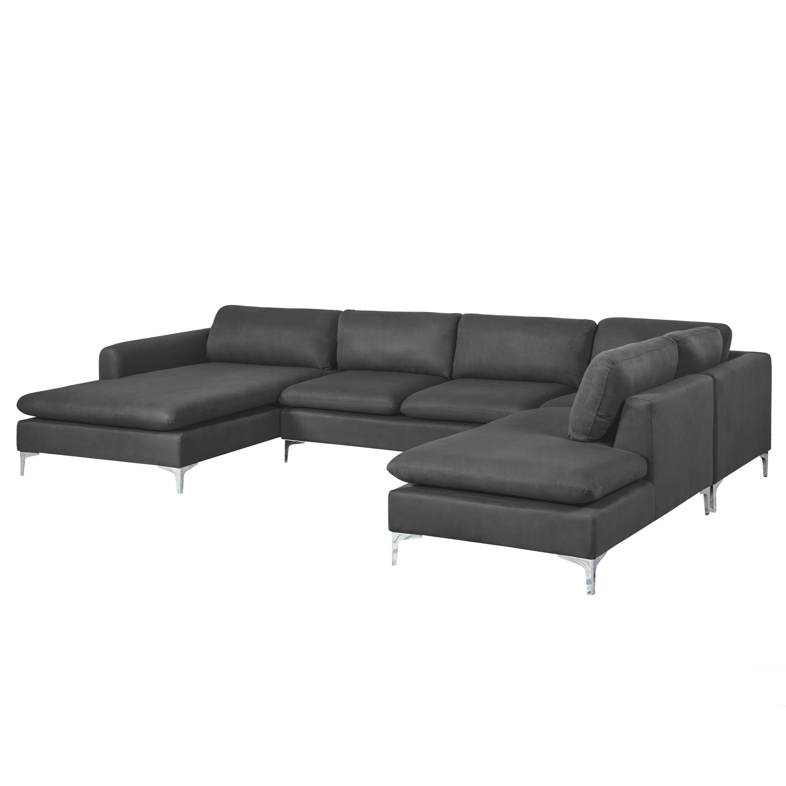 canap d 39 angle cleveland en u gris testez nos canap s d 39 angle cleveland en u gris rdv d co. Black Bedroom Furniture Sets. Home Design Ideas