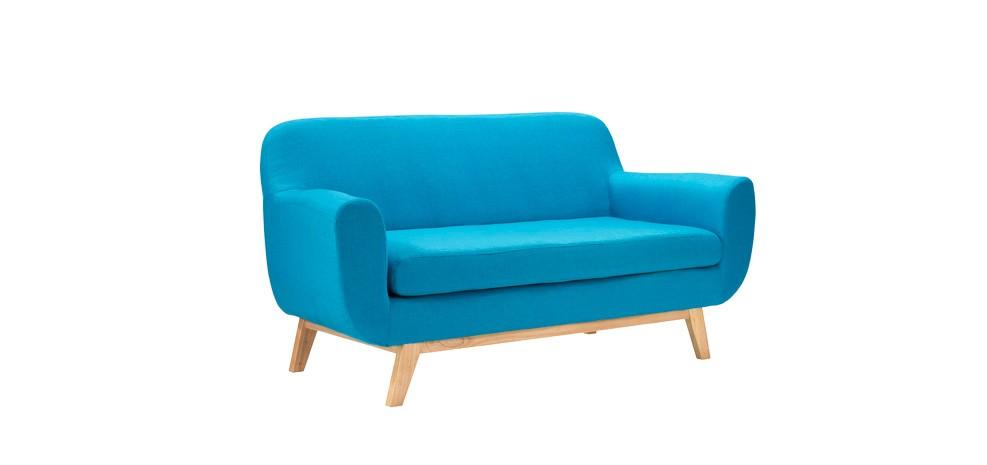 canap copenhague 2 places bleu d couvrez nos canap s copenhague 2 places bleus rdv d co. Black Bedroom Furniture Sets. Home Design Ideas