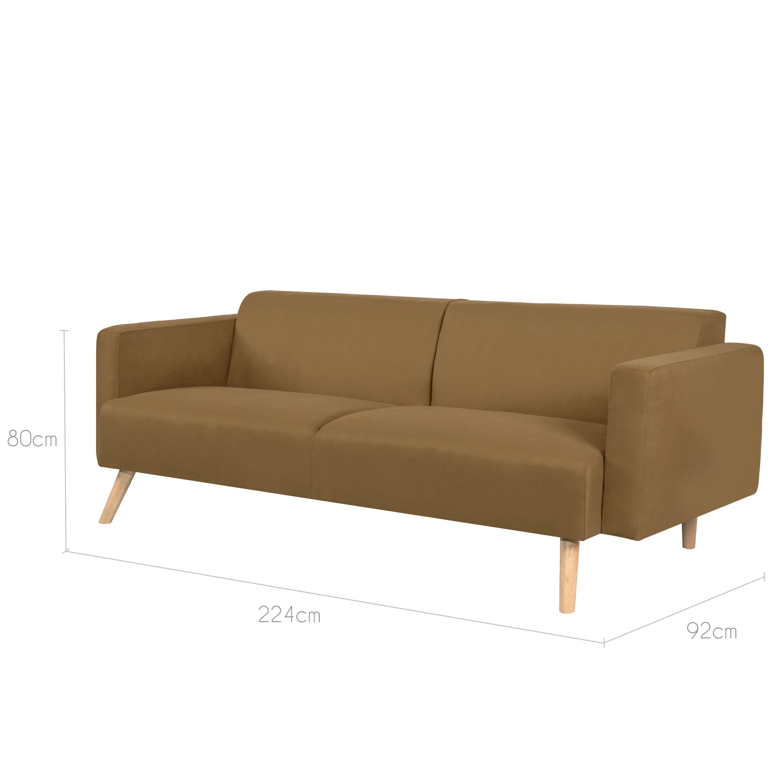 canap 3 places baltimore marron achetez nos canap s 3 places baltimore marrons design rdv d co. Black Bedroom Furniture Sets. Home Design Ideas