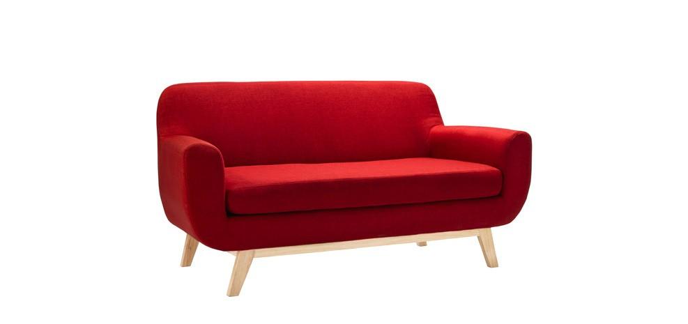 canap copenhague 2 places rouge craquez pour nos canap s copenhague 2 places rouges rdv d co. Black Bedroom Furniture Sets. Home Design Ideas