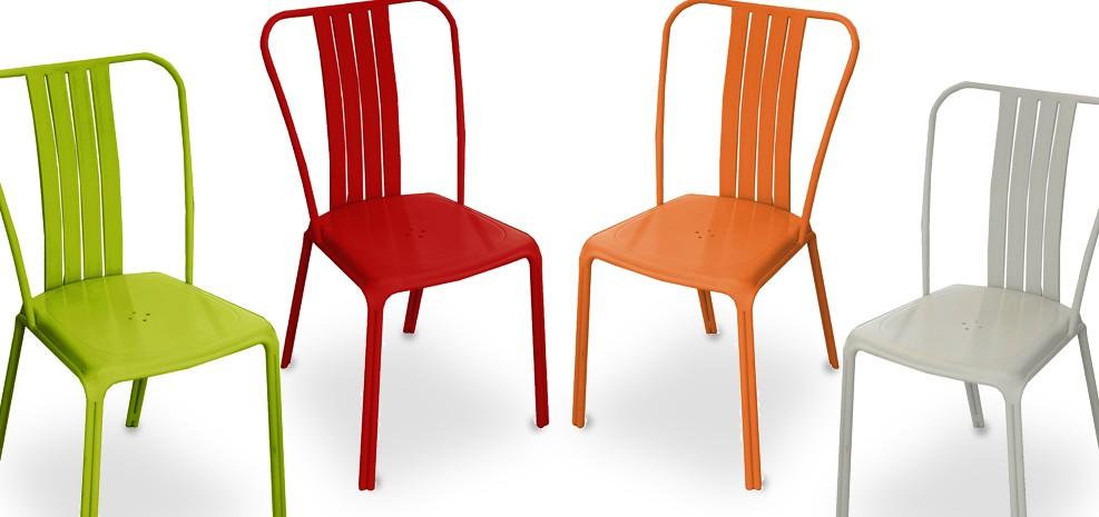 chaise de jardin azuro grise lot de 2 commandez nos lots de 2 chaises de jardin azuro grises. Black Bedroom Furniture Sets. Home Design Ideas