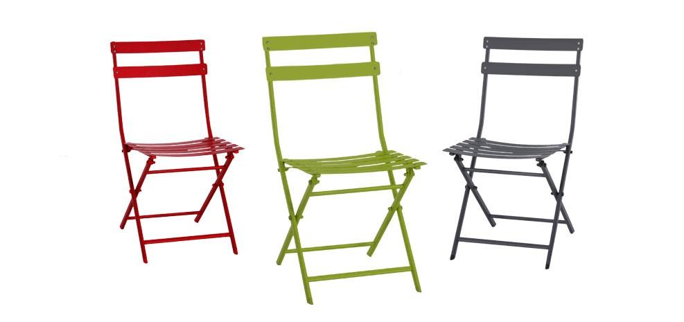 Remarquable Chaise de jardin Balcony verte : commandez nos chaises de jardin YC-03