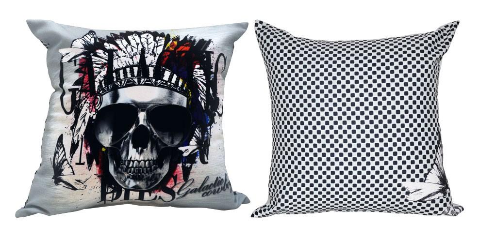 coussin t te de mort choisissez nos coussins t te de. Black Bedroom Furniture Sets. Home Design Ideas