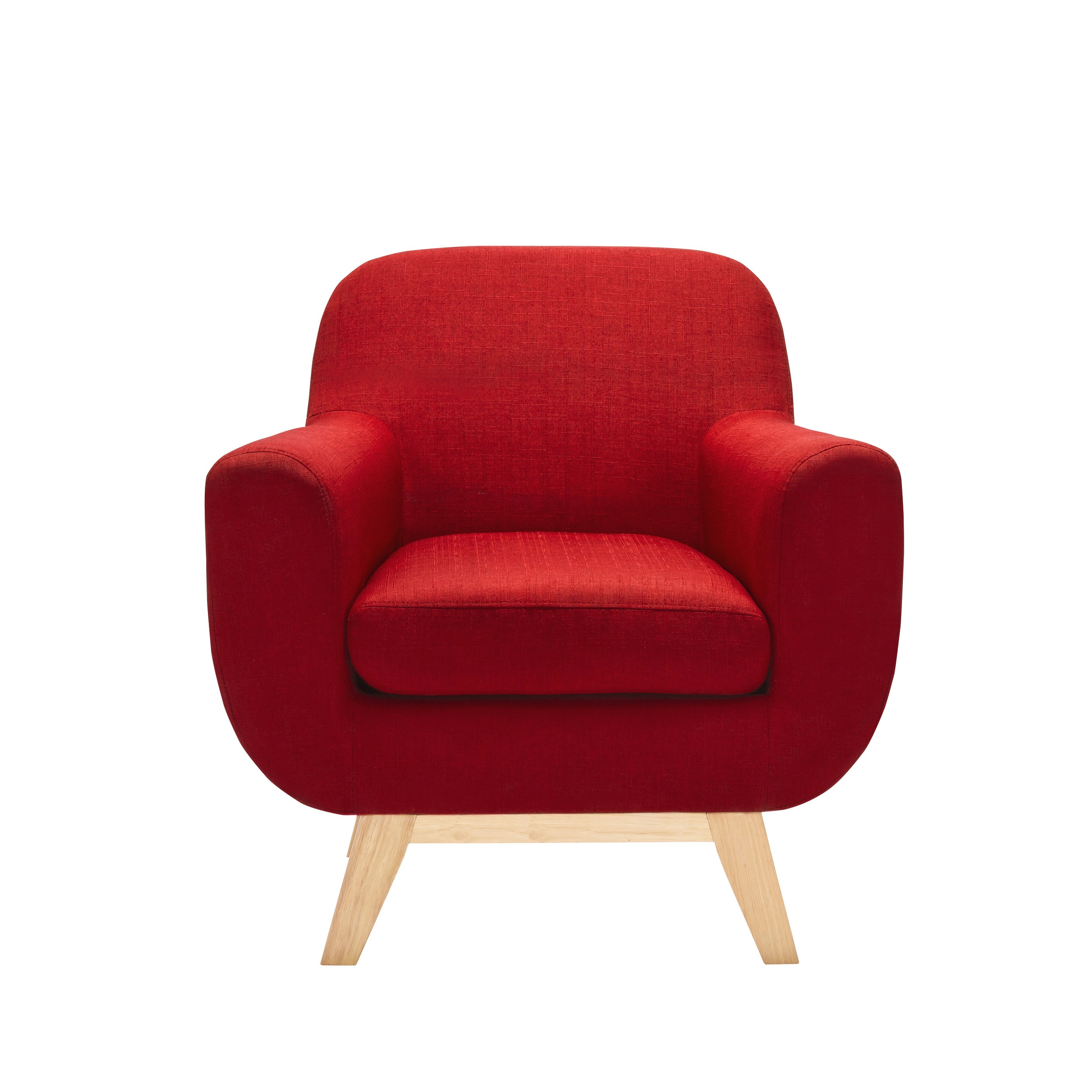 fauteuil copenhague rouge testez nos fauteuils copenhague rouges en lin rdv d co. Black Bedroom Furniture Sets. Home Design Ideas