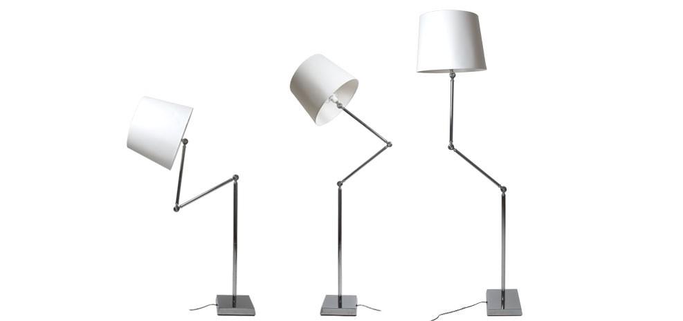 lampadaire flexible ivoire 2