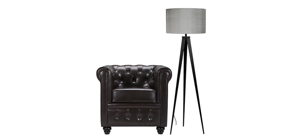 lampadaire tr pied gris d couvrez nos lampadaires. Black Bedroom Furniture Sets. Home Design Ideas