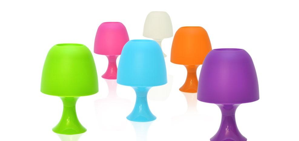Lampe Color Bleue