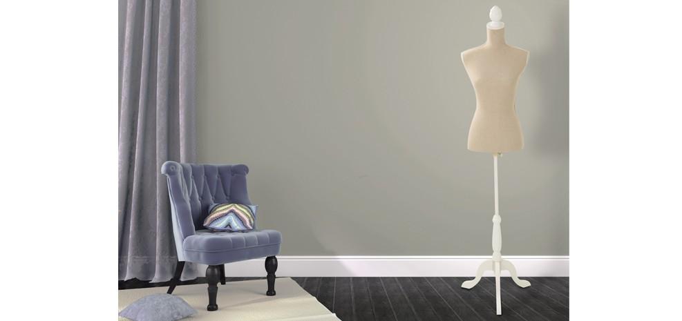 mannequin tissu beige pour decoration 2