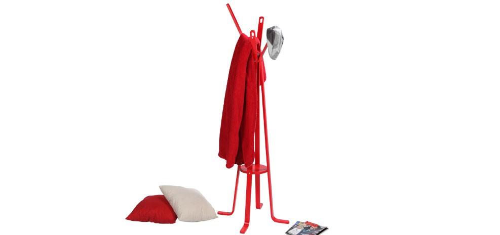 porte manteau rouge optez pour nos porte manteaux rouges. Black Bedroom Furniture Sets. Home Design Ideas