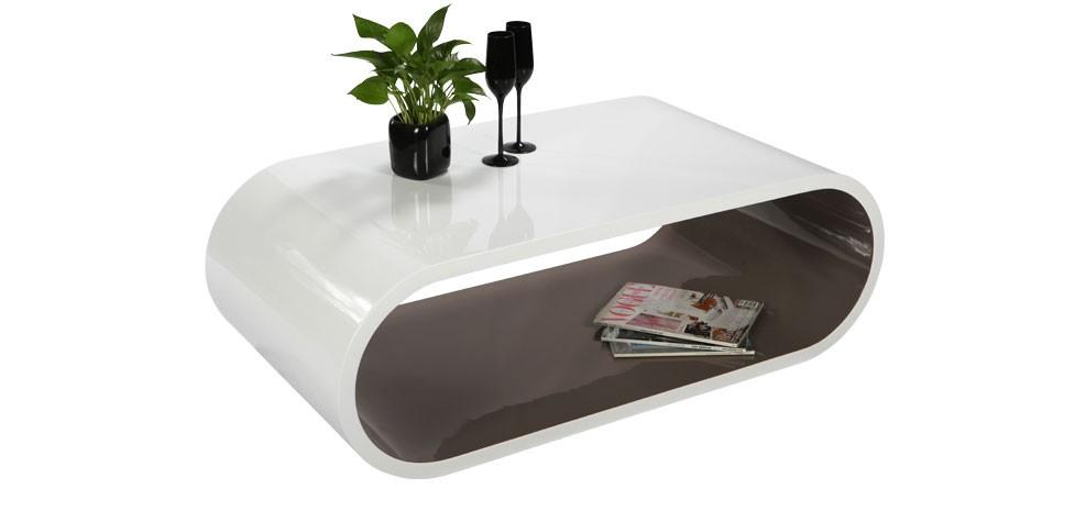 table basse tictac blanc taupe craquez pour nos tables. Black Bedroom Furniture Sets. Home Design Ideas