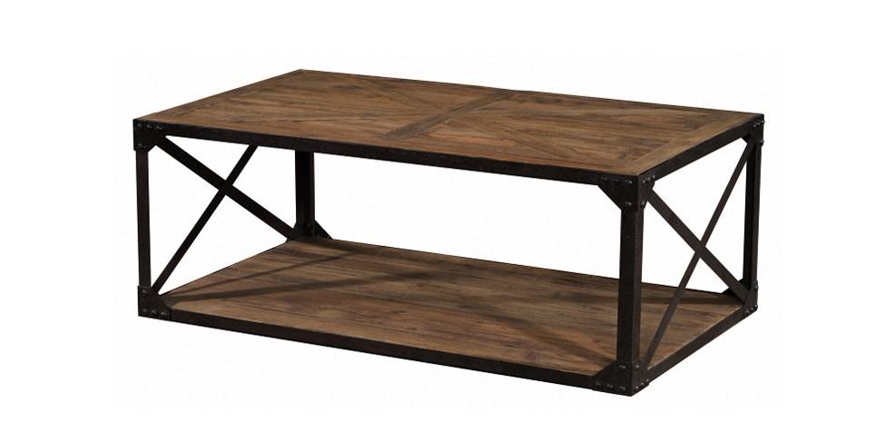 prix compétitif 1a54c b126c Table basse rectangulaire Artisan