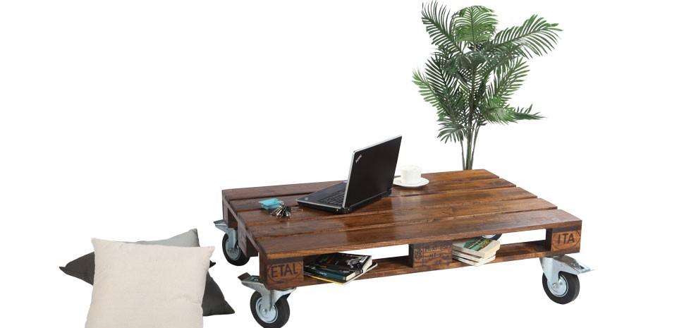 table basse bois palette