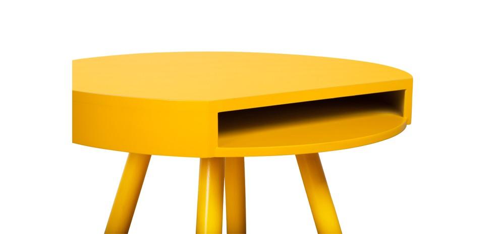table jaune avec rangement commandez nos tables jaunes. Black Bedroom Furniture Sets. Home Design Ideas