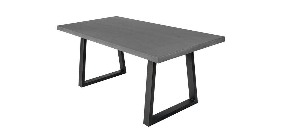 table basse teck et pierre de lave. Black Bedroom Furniture Sets. Home Design Ideas
