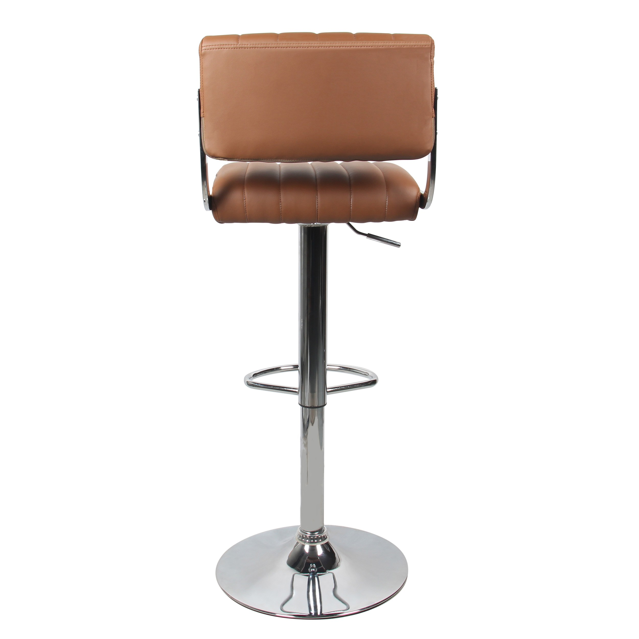 tabouret de bar design marron