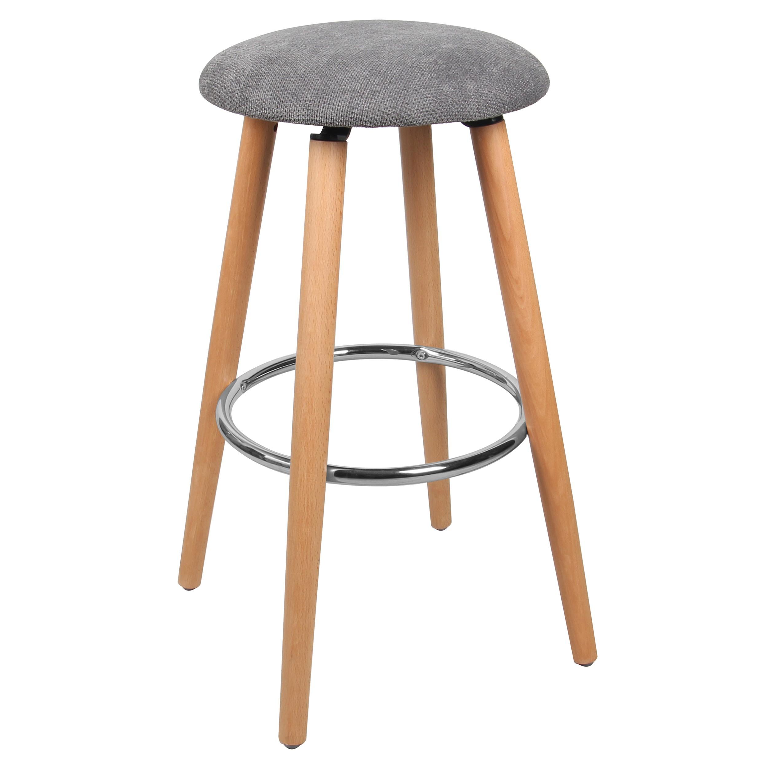 tabouret de bar bergen gris commandez nos tabourets de bar bergen gris rdv d co. Black Bedroom Furniture Sets. Home Design Ideas