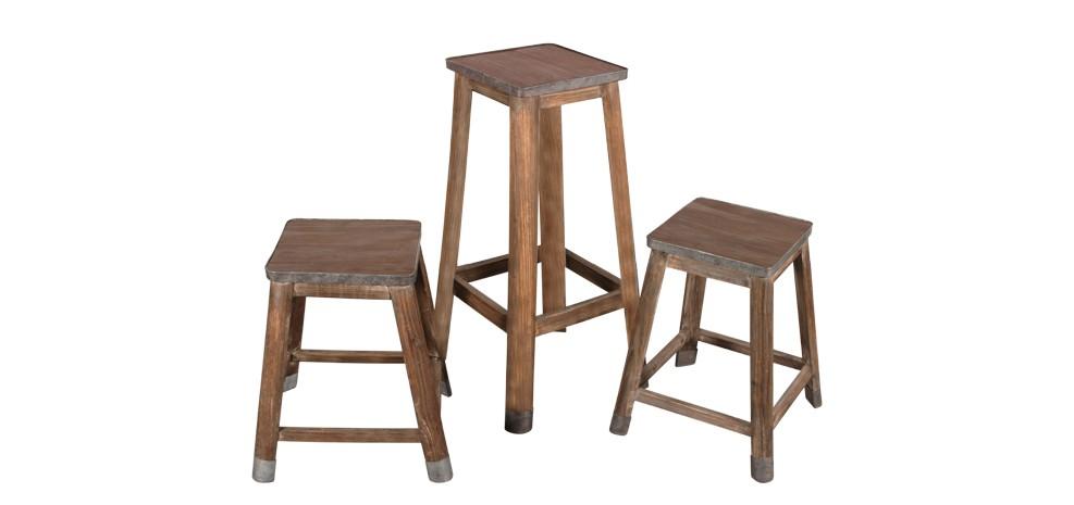 tabouret de bar en bois achetez nos tabourets de bar en bois rdv d co. Black Bedroom Furniture Sets. Home Design Ideas