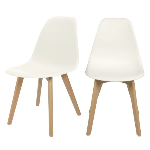 acheter chaise scandinave lot de 2
