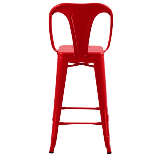 Achat Chaise De Bar Rouge Lot 2