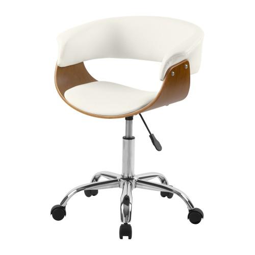 achat chaise de bureau design creme