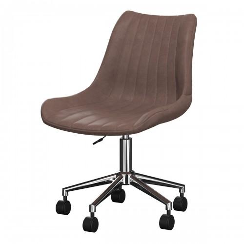 achat chaise de bureau taupe