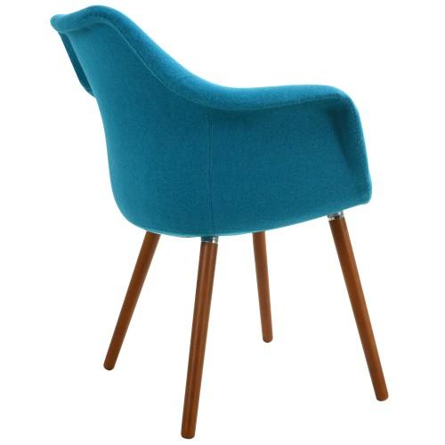 achat chaise design bleue