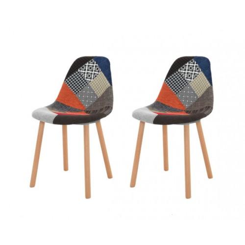 Chaise Arctik Patchwork (lot de 2)
