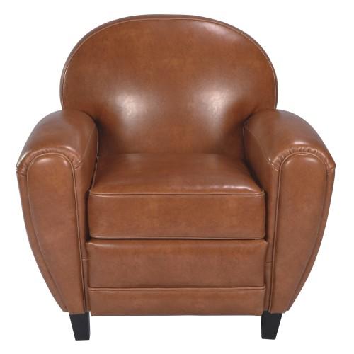 fauteuil club anglais camel pas cher