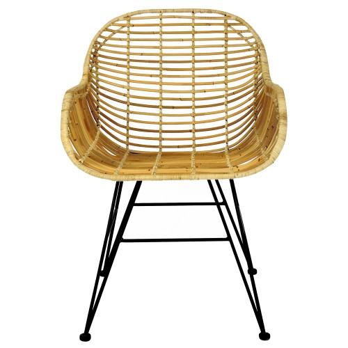 achat fauteuil rotin naturel
